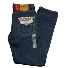Levi's Men's 514 Straight Fit Jeans 30x32 Made In The USA Cone Mills Denim $108