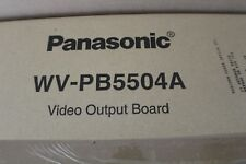 PANASONIC WV-PB5504A VIDEO OUTPUT BOARD FOR MATRIX SYSTEM 500 WVPB5504A
