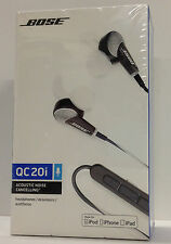 Bose Quiet Comfort 20i In-ear Noise Cancelling Headphones w/ Mic and Remote