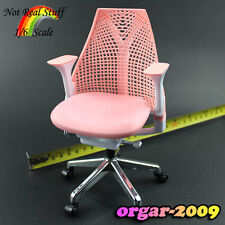Z20-03 1/6 Scale ZCWO Office Chair Pink ( about 17cm height TOY )