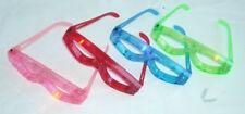 12 pcs Blinking Eyeglasses Multicolor LED Light Up Flashing Novelty Eyewear Gift