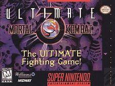 Ultimate Mortal Kombat 3, (SNES)
