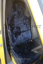 PROTON GEN2/ SATRIA NEO CAR SEAT COVERS NAVY BLUE FAUX FUR - FULL SET