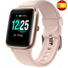 PUTARE Smartwatch, Relojes Inteligentes Impermeable IP68 para Mujer  (rosado)