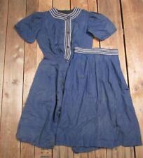 Abbigliamento e accessori vintage blu vittoriani da Stati Uniti