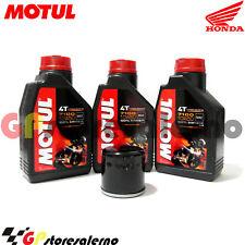 TAGLIANDO OLIO + FILTRO MOTUL 7100 10W50 HONDA 400 CB SUPER FOUR 2000