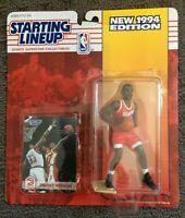 STACEY AUGMON 1994 Starting Lineup Figure Bonus Card Atlanta Hawks NBA