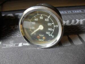Smiths Oil pressure  Gauge, Mini, Lotus, Ford, MG original rare guage ,