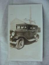 Vintage Car Photo circa 1930 Plymouth Sedan 812