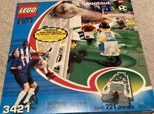 LEGO 3421 Soccer 3 vs 3 Shootout Football Adidas 2002 World Cup Ballon - NEW