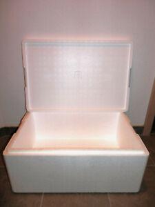 Styroporkiste Kühlbox Thermobox Styroporbox Isobox Isolierbox Getränkebox 38,5 L