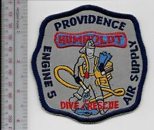 Providence Fire Department Fire Engine 5 SCUBA Dive & Rescue Team Rhode Island
