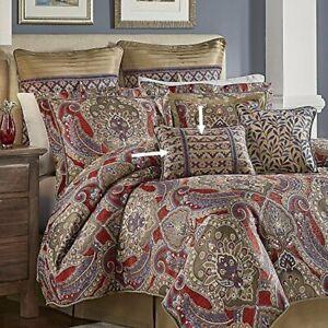 "Croscill Margaux Pillow Boudoir Lumbar Breakfast Decorative 19""x13"" Discontinued"