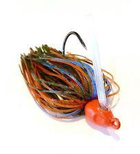 3 Custom Bass Swim Jigs (Sunfish) 1/2 oz