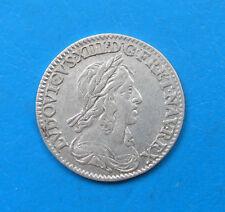 Louis XIII 12ème d'écu 2ème poinçon 1643 A point , avec baies