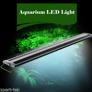 "18"" 2W HI Lumen LED Aquarium Fish Tank Plant Marine Cichlid 33 LEDs Fish Light"