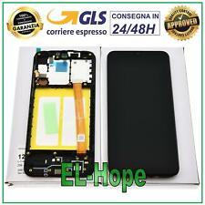 DISPLAY LCD ORIGINALE SAMSUNG GALAXY A20E SM A202F TOUCH SCREEN SCHERMO VETRO
