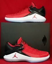 NIB Mens 8 AIR JORDAN XXXII 32 LOW AA1256 603 RED BLACK BASKETBALL SHOES $160