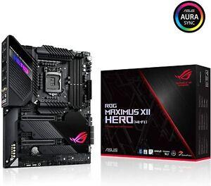 ASUS ROG Maximus XII Hero Z490 WiFi 6 LGA 1200 Intel 10th Gen ATX Gaming Motherb