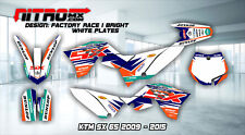 KTM SX 65 2009 2010 2011 2012 2013 2014 2015 Graphics Kit Decal Design Stickers