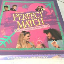Perfect Match Board Game By Parker Bothers