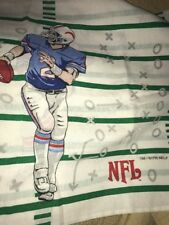 Vintage 1996 NFL Football Standard Pillowcase 2 Sided Sports Touchdown