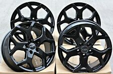 "18"" ALLOY WHEELS FOX VIPER 4 BLACK FIT PEUGEOT BOXER VAN 130 EURO 5 ALL MODELS"