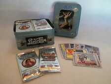 A Case of 1995 Pepsi-Cola Pepsi Series 2 Collector Trading Card Unopened Pk Tin