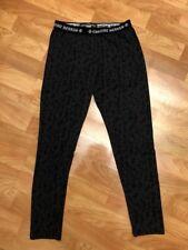 Chrome Hearts Women M Made In Japan Black Spell Out Leggings K114