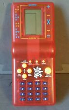 Super mouse 9999 in 1 Handheld game and calculator. Red