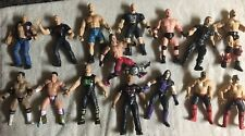 WWE LOT OF 15 LOOSE WRESTLING  ACTION FIGURES Stone Cold The Rock and others