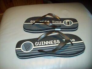 GUINESS Flip Flops Mens UK10 BNWOT