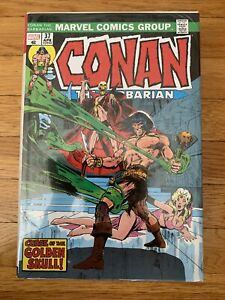 Marvel Comics CONAN BARBARIAN Omnibus #2 DM Neal Adams Cvr (2020) Global Ship