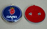 Saab 95 9-5 Estate 1998-2005 Rear Tailgate Boot Badge Emblem 5289921 Blue New
