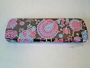 NWT Vera Bradley Pencil Set with Tin in Alpine Floral 10 count