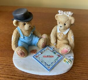 🧸 Cherished Teddies 2001 Figurine, Jerald & Mary Ann, Monopoly Game, 811742