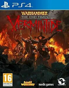 PS4 - Warhammer The End Times Vermintide **New & Sealed** Official UK Stock
