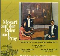 Mozart auf der Reise nach Prag - Rosenau-Trio - mit Autogrammen