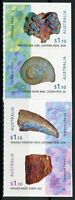 Australia Minerals Stamps 2020 MNH Opalised Fossils Opal Nature 4v S/A Strip
