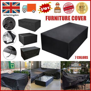 Heavy Duty Waterproof Garden Patio Furniture Cover for Rattan Table Cube Outdoor