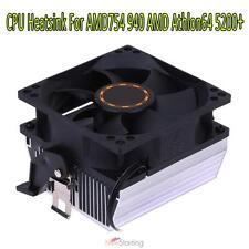 A3 3Pin Silent DC 12V CPU Cooling Fan Heatsink Cooler Radiator fr AMD754 939 AMD