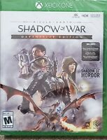 Middle-earth: Shadow of War - Xbox One New!