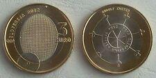 3 Euro Slowenien 2012 Olympische Medaille unz