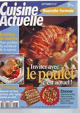 cuisine actuelle - septembre numero 57 - poulet - recettes du marché