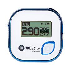 GolfBuddy voz 2 se hablando Telémetro Golf GPS, Azul