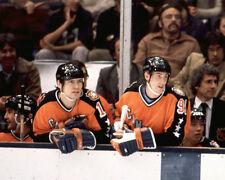 WAYNE GRETZKY & MARK MESSIER Unsigned 1983 ALL STAR 8x10 Photo Edmonton Oilers