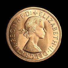 Elizabeth II 1965 centavo, uncirculated brillante