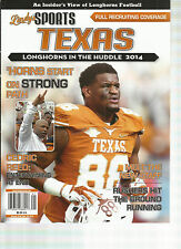 LINDY'S SPORT TEXAS LONGHORNS IN THE HUDDLE, 2014 ( FULL RECRUTING COVERAGE )
