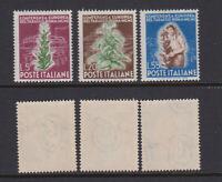 ITALY 1950 Tabac conferece Rome Mint **  Sc.544-546 (Sa.629/631)