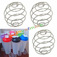 1xBlender Whisk Protein Wire Mixing Mixer Ball For Shaker Drink Bottle Cup Blend